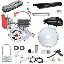 100CC Engine Bike Bicycle Motor Kit 2Stroke Gas Motorized Bike Modified FULL Set