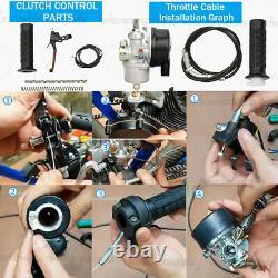 100cc 2-Stroke Bicycle Engine Kit Gas Motorized Motor Bike Modified Full Set NEW