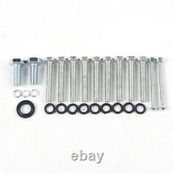 100cc 2-Stroke Bicycle Engine Kit Gas Motorized Motor Bike Modified Full Set USA