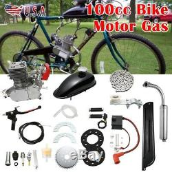 100cc Bike Motor Gas 2 Stroke Engine Racing 100cc Motorize Bicycle Lots Of HP