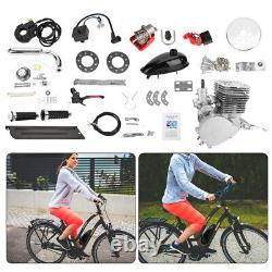 110cc Bicycle Motor Kit Bike Motorized 2 Stroke Petrol Gas Engine Full Set