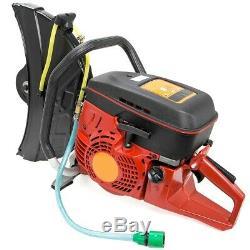 14 94cc HandHeld Gas Cut Off Saw Concrete Bricks 2-Stroke Engine No Blade