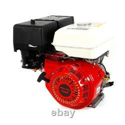 15 HP 4 Stroke 420CC Engine OHV Horizontal Gas Engine Go Kart Motor Recoil 3 Amp
