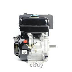15 HP 4 Stroke 420CC Gas Engine Forced Air Cooling Motor Recoil Pull Start 1.1 L