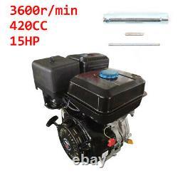 15 HP 4Stroke Gas Motor Engine 420CC Air Cooling Single Cylinder Go Kart Motor