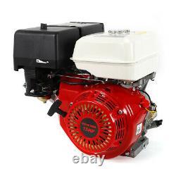 15HP 4 Stroke Gas Engine Go-Kart Replacement Motor Recoil Start OHV Motor 420cc