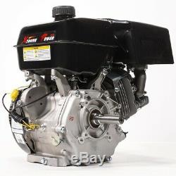 15HP Horizontal Gas Engine 4-Stroke OHV Go Kart Recoil Start Engine EPA & Carb