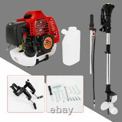 2.5HP 2-Stroke Outboard Motor Gas Motor Fishing Boat Engine CDI System Ignition