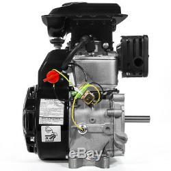 2.5HP (79.5cc) OHV Horizontal Shaft Gas Engine Mini Bike 4-Stroke Motor EPA