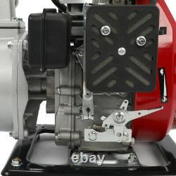 2.5HP Gas Water Pump Semi Trash 1 NPT Air Cooled 4 Stroke Engine 97CC