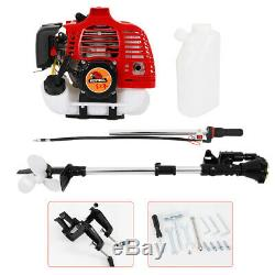 2-Stroke 2.5 HP Outboard Motor Fishing Boat Motor Gas Engine with CDI System US