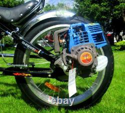 2-Stroke 42cc Rear-Wheel Side Mount Gas Motorized Bicycle Bike Engine Motor Kit