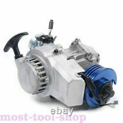 2 Stroke 49cc 50cc Bicycle Petrol Gas Motorized Engine Racing Bike Pocket Motor