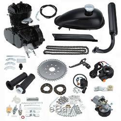 2 Stroke 80cc Bike Cycling Motorized Bicycle Engine Motor Kit Muffler Petrol Gas