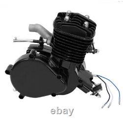 2-Stroke 80cc Bike Cycling Motorized Bicycle Engine Motor Kit Muffler Petrol Gas