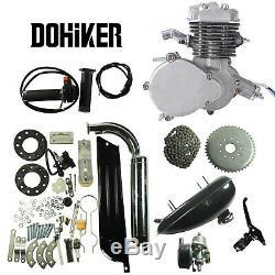 2 Stroke 80cc Bike Motorized 26/28 Bicycle Engine Petrol Gas Powered Motor Kit