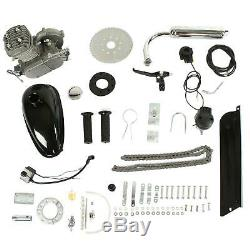 2-Stroke 80cc Cycling Engine Motor Kit Petrol Gas for 24/26 Motorized Bicycle