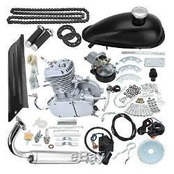 2-Stroke 80cc Engine Motor KIT GAS FOR MOTORIZED BICYCLE CYCLE PUSH BIKE