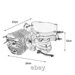 2 Stroke Complete 49cc 50cc Bicycle Petrol Gas Motorized Engine Bike Motor Kit