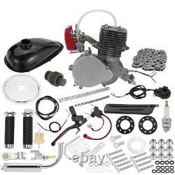 2 Stroke Full Set 100cc Bike Bicycle Motorized Petrol Gas Motor Engine Kit Set