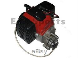 2 Stroke Gas Scooter Moped Bike 49cc Engine Motor w Transmission Electric Start