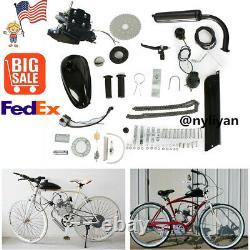 2 Stroke Motor 80cc Engine Petrol Gas Kit F Motorized Bicycle Bike&Modification
