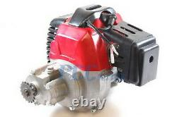 2 Stroke Pocket Bike 49cc Engine Motor Pull Start Gas Scooter T8F SPROCKET EN04P