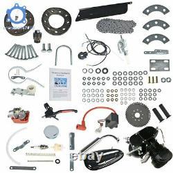 2 Stroke100cc Bicycle Motor Kit Bike Motorized Petrol Gas Engine Set Black US
