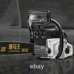 20 Bar Gas Chain Saw 89cc 2-Stroke Engine Aluminum Crankcase Gasoline Wood Work