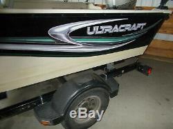 2005 Ultra Craft Misty Harbor Model 166 Trophy Honda 50 HP Four Stroke Engine