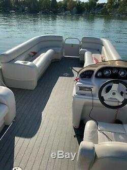 2008 Starcraft Limited 246 Pontoon Boat With Mercury 115 EFI Four Stroke Engine