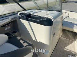 2014 Yamaha 242 Limited Jet Boat Bimini Twin Engine 4 Stroke Serviced Trailer