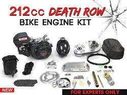 212cc Death Row Bike Engine Kit 4-Stroke Gas Motorized Bicycle Engine kit