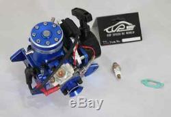27.5CC 2-Stroke 4 bolt Engine fit 1/5 Gas Marine Boat ZENOAH
