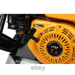 3000PSI 4-Stroke Gas Powered Petrol Engine Cold Water Pressure Washer 7HP