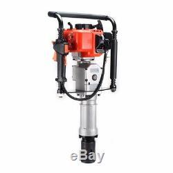 33cc 2 Stroke Gasoline Gas Pile Powered T Post Driver Engine Push Fence Farm USD