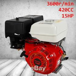 4 Stroke 15 HP Gas Engine Go Kart Motor Recoil Start OHV Single Cylinder Motor