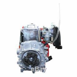4-Stroke 49CC GAS PETROL MOTORIZED BIKE ENGINE MOTOR KIT Scooter Gear Belt Drive