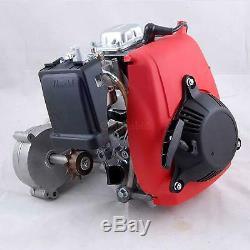 4-Stroke 49CC Gas Petrol Motorized Bicycle Bike Engine Motor Kit with Belt Gear