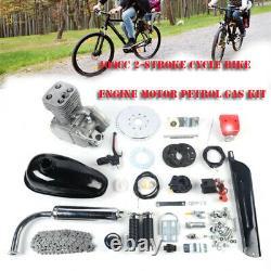 4-Stroke 49CC Gas Petrol Motorized Bike Engine Motor Kit Belt or Chain Drive USA