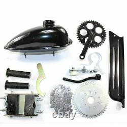 4 Stroke 49cc Bicycle Engine Kit Gas Petrol Bike Motor Scooter Chain WithGear Box