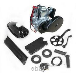 4-Stroke 53cc Gas Petrol Motorized Bicycle Bike Engine Motor Kit Belt Gear New
