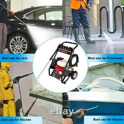 4-Stroke Gas Cold Water Portable Pressure Washer Cleaner- 3000 PSI, 3.1 GPM