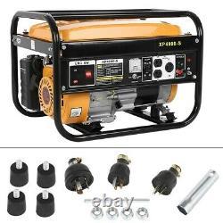 4-Stroke Gas Generator 4000 Watt Emergency Lifan Engine Power Camp Tailgate US