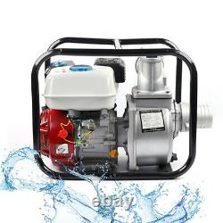 4 Stroke Gas Powered Water Transfer Pump 3-Inch 7.5 HP Water Pump 210cc Engine