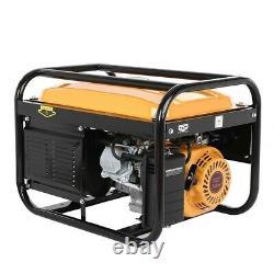 4000W Gasoline Generator Portable Gas 4-Stroke Engine 7.5HP 120V Recoil Start US