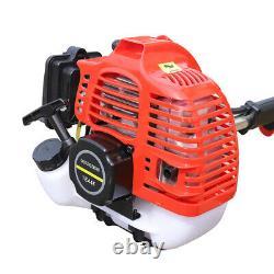 42.7CC Mini Tiller Cultivator Garden Cylinder 2Stroke Gas Powered Engine Machine