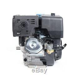 420CC 15HP 4 Stroke OHV Gas Engine Go Kart Motor Air Cooling Recoil Pull Start