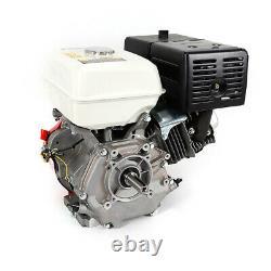 420CC Engine 15 HP 4 Stroke OHV Horizontal Gas Engine Go Kart Motor Recoil 3 Amp