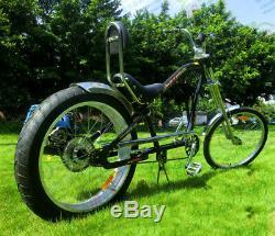 42cc 4-Stroke Rear-Wheel Side Mount Gas Motorized Bicycle Bike Engine Motor Kit